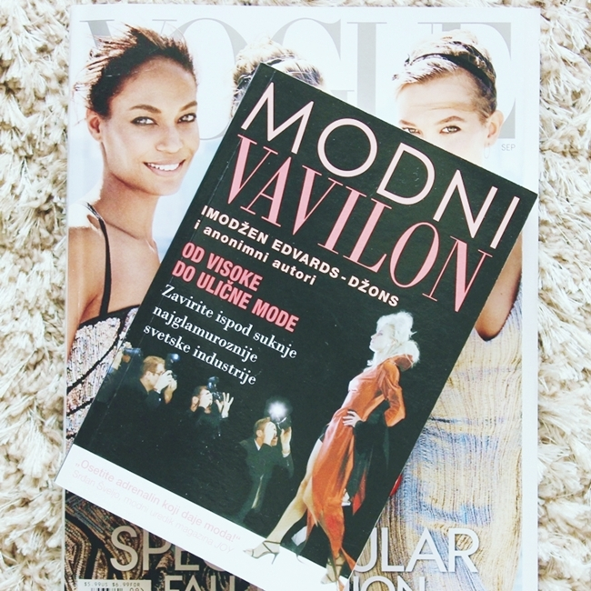 Instagram @lelazivanovic 437.Vogue september issue.Modni Vavilon knjiga.Fashion Babylon book.