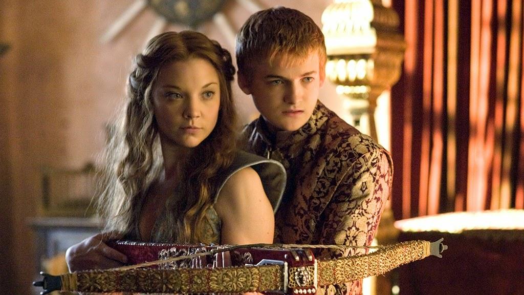 Game of Thrones- Joffrey Baratheon (főszereplő) és Margaery, a következő évad új királyi párosa