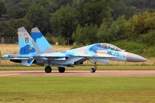 Su-27 flanker takeoff