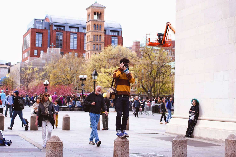 nyc fashion blog, nyc fashion bloggers, vintage fashion blog, washington square park, nyc spring outfit