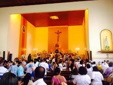 Senhora Sant`Anna padroeira do bairro recebe homenagens dos fiéis