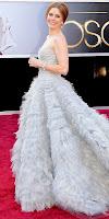 Ейми Адамс на Оскари 2013 в разкошна рокля на Оскар де ла Рента