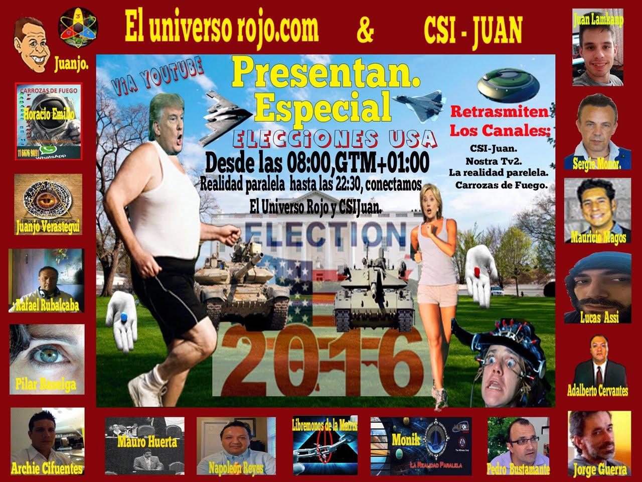Especial elecciones EEUU 2016 (VIDEO)