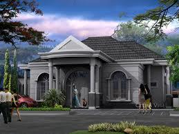 denah rumah klasik