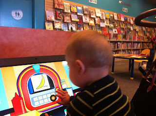 Freddie at the Library