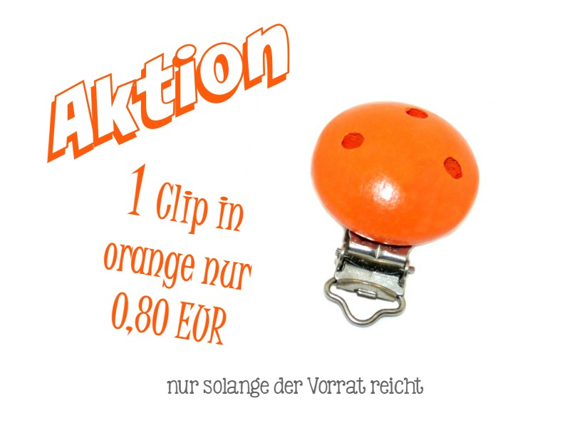 Hier erhälst Du die Schnullerclips http://de.dawanda.com/product/80882619-Aktion---Abverkauf-Schnuller-Clip-Holz---orange