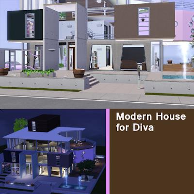 Modern House for Diva 2