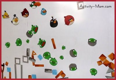 Angry Birds Magnets