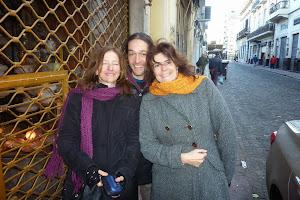 Ana, Giorgio y Laura