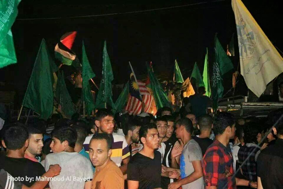Gaza kibar bendera Malaysia tanda kemenangan bersama