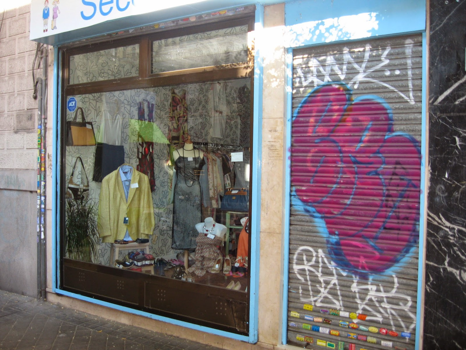 grafitis para tiendas