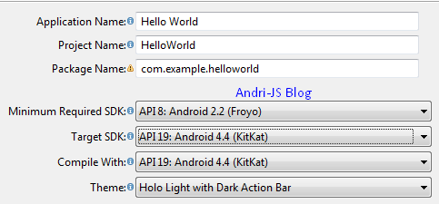 Membuat Aplikas Hello World di Android
