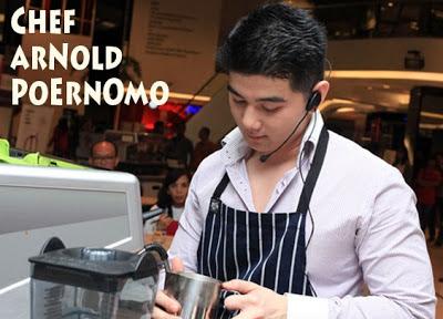 Profil dan Biodata Chef Arnold Poernomo