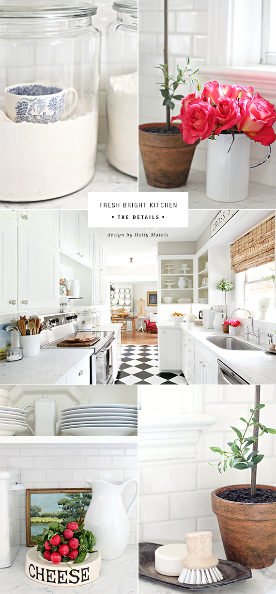 THE ROOM: Fresh bright kitchen by Holly Mathis | My Paradissi