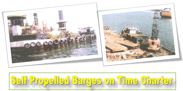 Barges for Maldives, Sri lanks, Lakshadweep to carry cargo, construction equipments, fuel, bagged cargo