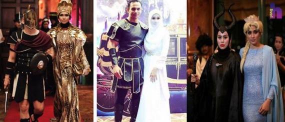 Malam Gala Fantasi anjuran Datuk Terlajak Laris Menyaksikan Kostum Menarik Dari Selebriti