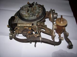Acionamento Mecânico do Segundo estágio do carburador 2E7 Carburador2E%2B002