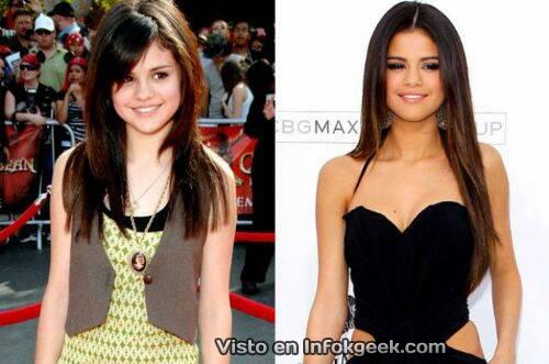 El antes y despues de los Actores y Estrellas de Disney