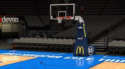 NBA 2K14 Oklahoma City Thunder Court Update