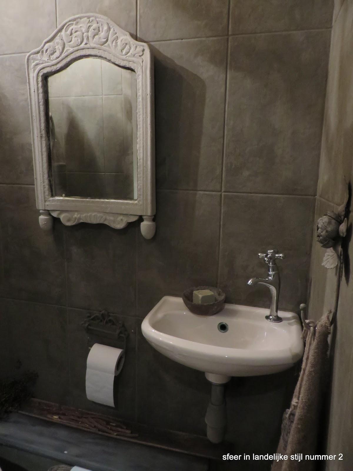 Sfeer in landelijke stijl nummer 2 toilet - Verf wc ...