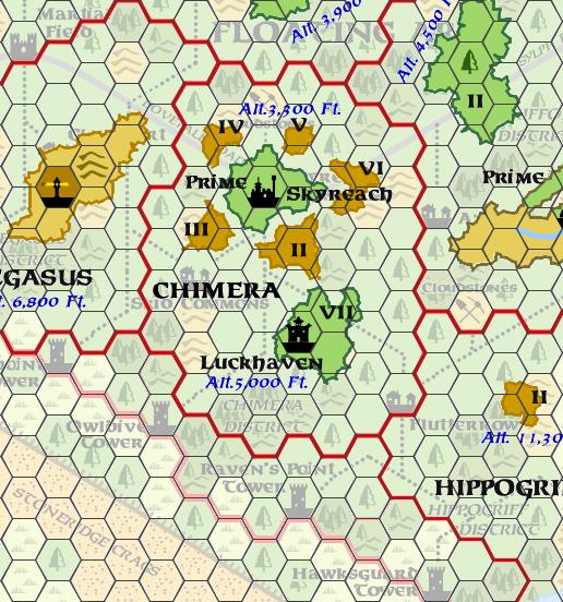 Mystara Alphatia Ar Chimera Map