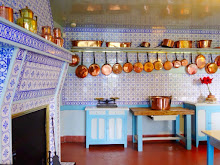 CLAUDE MONET'S KITCHEN