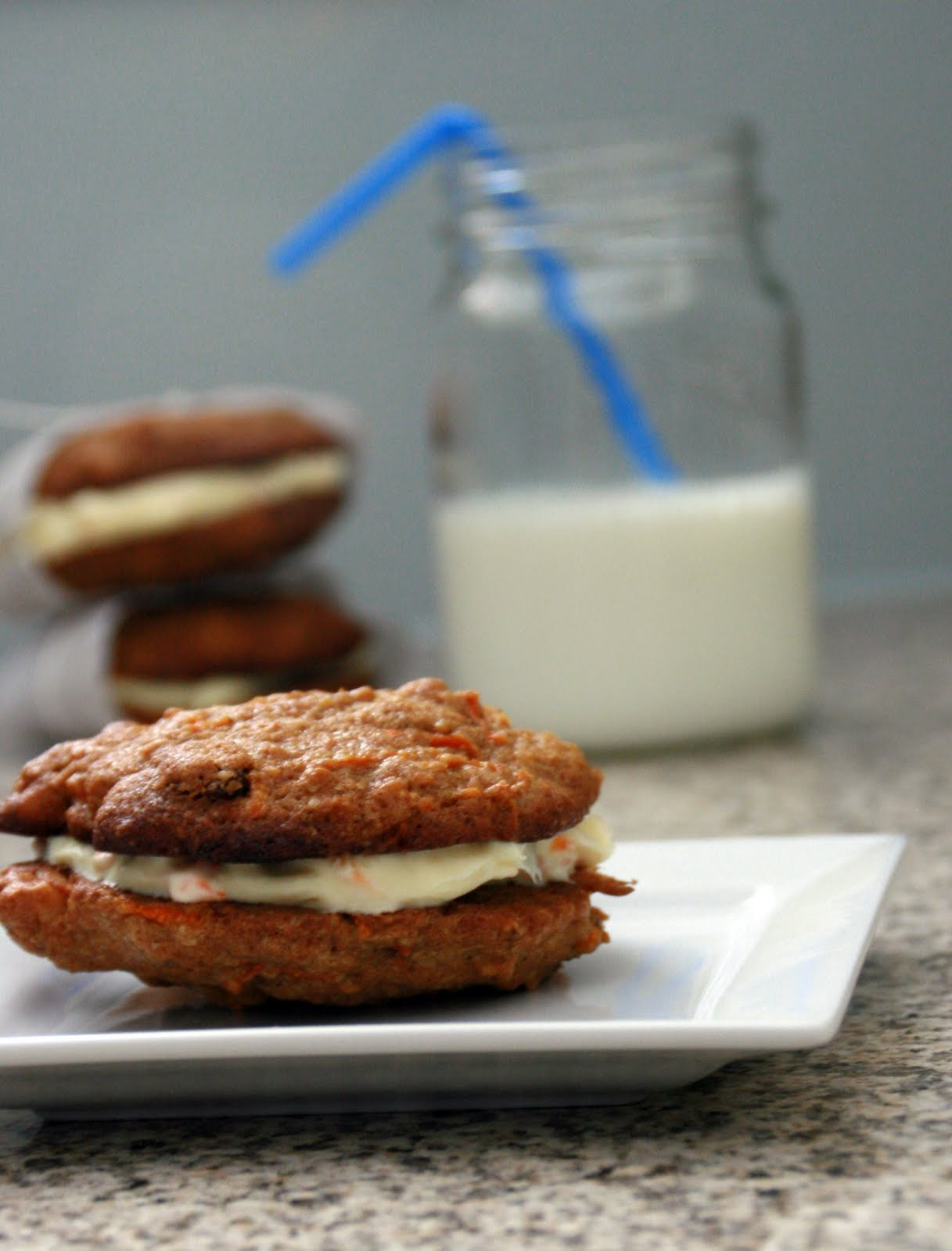 ... with Chopin, Living with Elmo: Inside-Out Carrot Cake Cookies (SRC