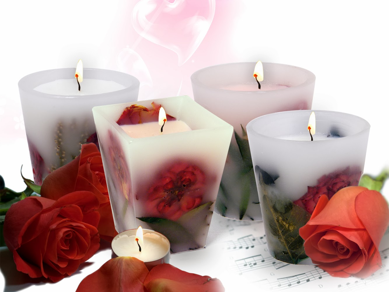 Изготовить свечку своими руками