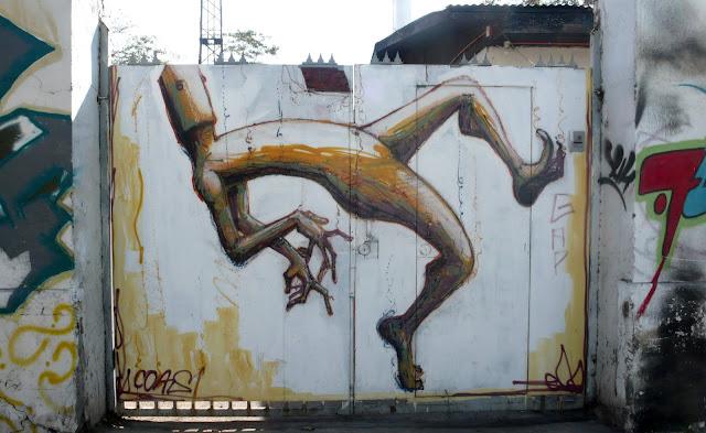 street art in santiago de chile coas arte callejero