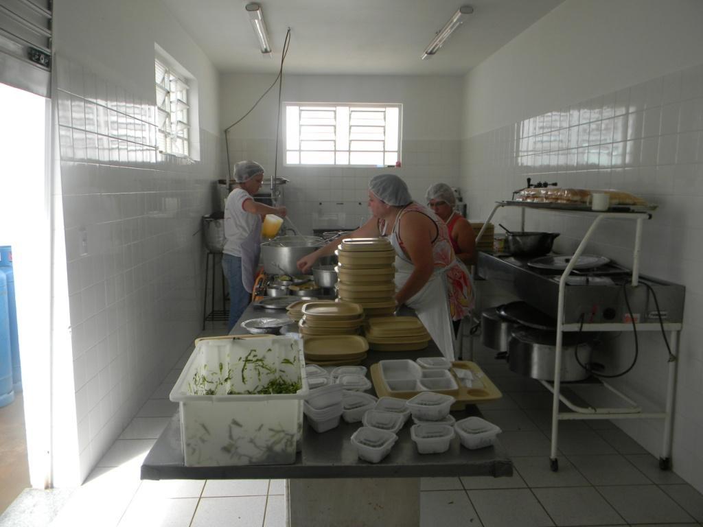 Di Rio De Tatu Nova Cozinha Industrial Da Santa Casa Ser