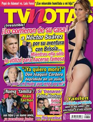 YANILEN ::.: :: Portada y Nota en revista Tvnotas :: Enero 2013 ::