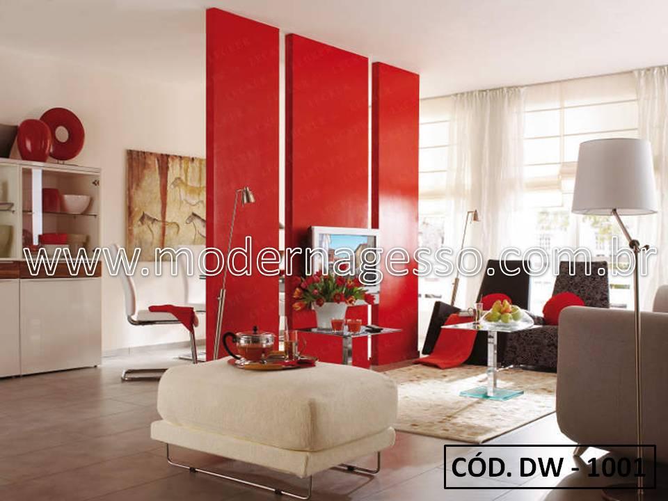 Salas integradas como separar os ambientes com estilo moderna gesso for Decoraciones de ambientes de casas