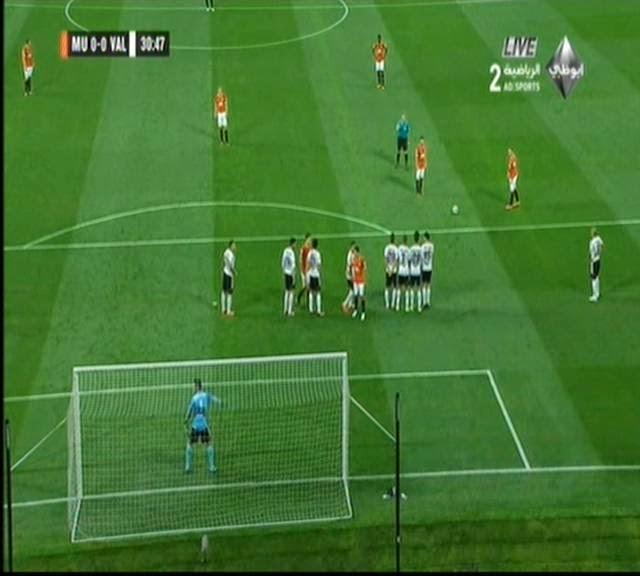 اهداف مبارة مانشستر يونايتد و فالنسيا  2-1