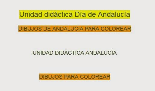 Recursos para el Día de Andalucía