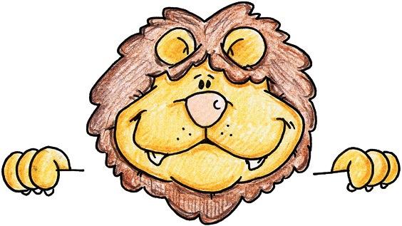 dibujos de leones para imprimir - Imagenes y dibujos para ...