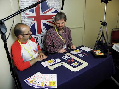 UK Gaming Media Network - Andy Hopwood being interviewed by Paco Garcia Jaen