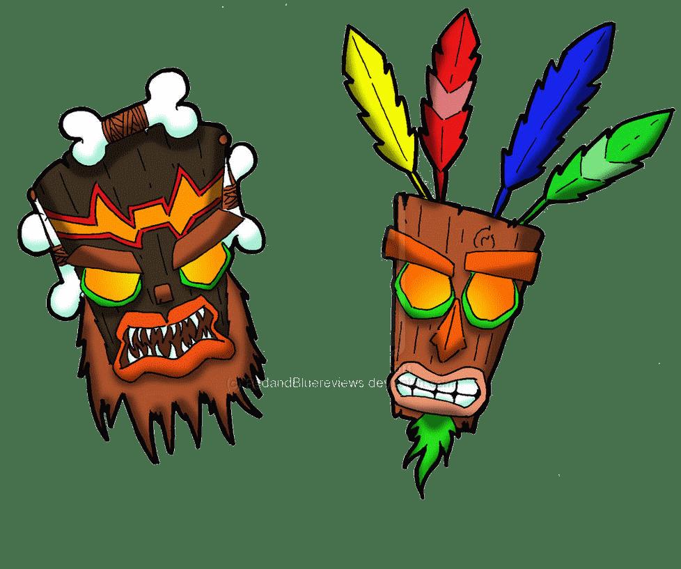Aku Crash Bandicoot Mask