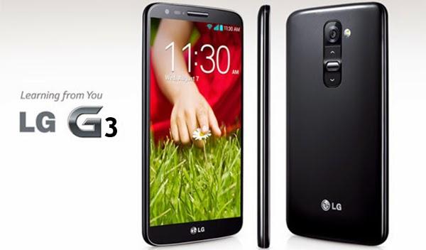Harga dan Spesifikasi HP LG G3 2015 - Smartphone Android RAM 3gb