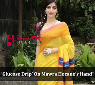 Recently Mawra Hocane Cought With Glucose Drip On Hand