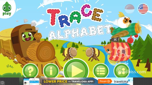 Aplikasi Boci Trace Alphabet