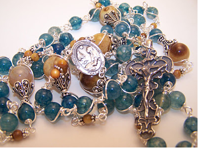 No. 13.  Rosary of St. Catherine Bologna