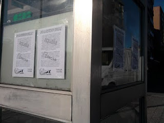 CNT Santander contra la represión en Facsa y Aqualia