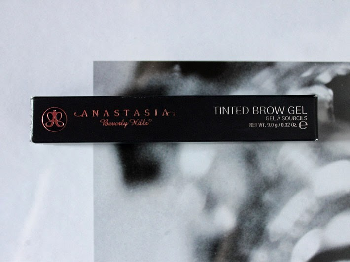 Anastasia Tinted Brow Gel in Granite Review