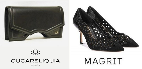 Queen Letizia's CUCARELIQUIA Handbag And MAGRIT Estela Pump