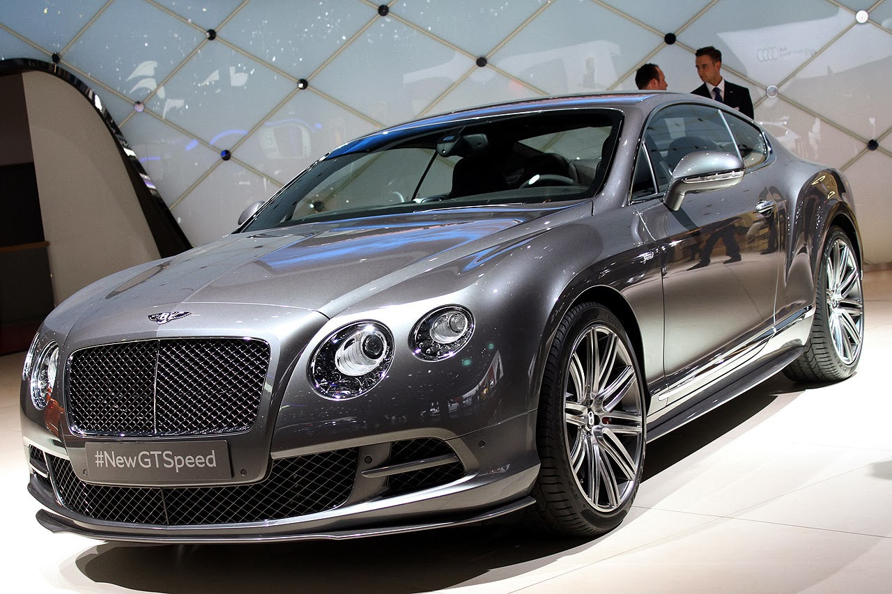 Automotiveblogz: 2014 Bentley Continental GT Speed: Geneva 2014 Photos