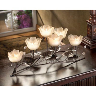 Lotus Blossom Candle Holder