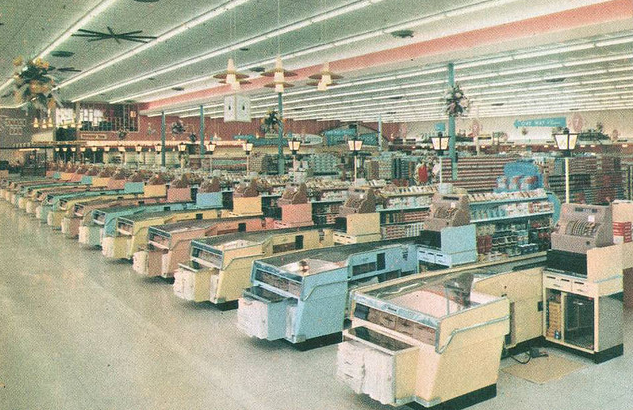 Vintage grocery store pictures