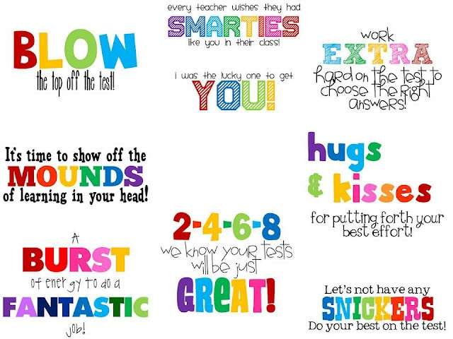 Encouraging Quotes For Elementray Students Taking Tests. QuotesGram