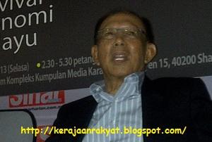 Bekas Timbalan Perdana Menteri Tun Musa Hitam
