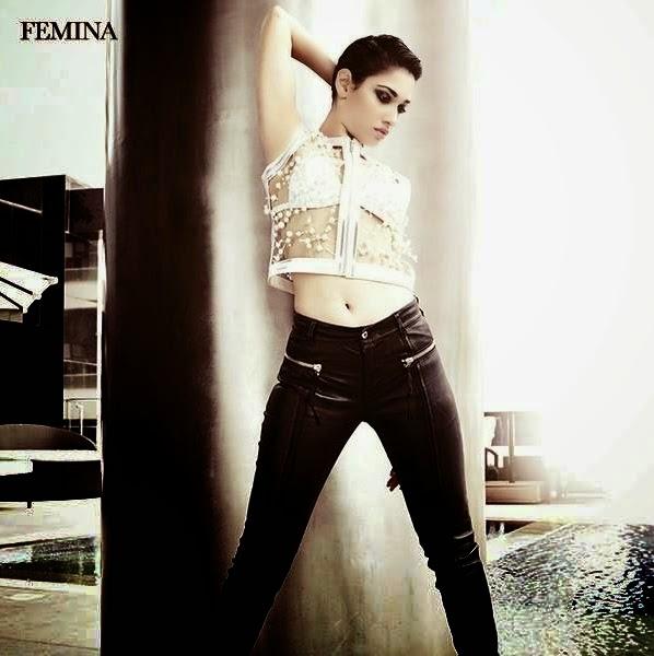 Tamannah Bhatia Femina Magazine June 2014 Cover Page Photos